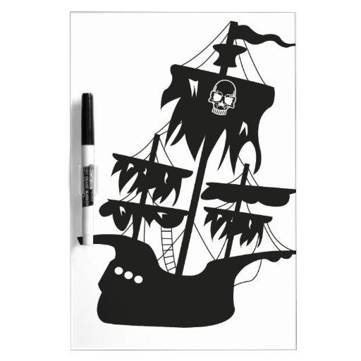Piratenschiff Tablero Blanco