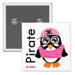 pirateo el pingüino pin