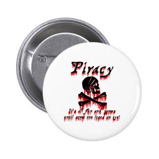 Piratería es toda la diversión y juegos pins