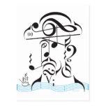 Piratería musical postales