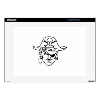 """Pirates 15"""" Laptop Skin"""