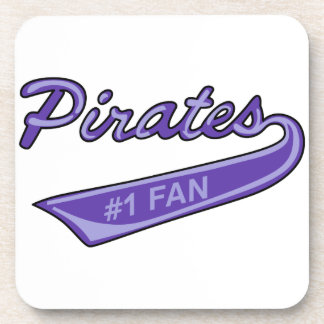 Pirates #1 Fan Beverage Coaster