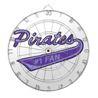 Pirates #1 Fan Dart Board