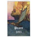 Pirates 2015 calendar
