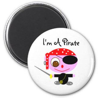 pirates 2 inch round magnet
