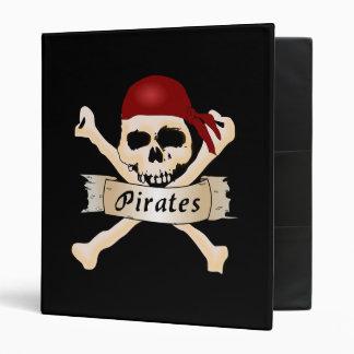 Pirates 3 Ring Binder
