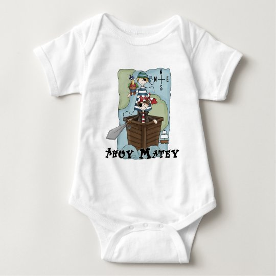Pirates Ahoy Tshirs and Gifts Baby Bodysuit
