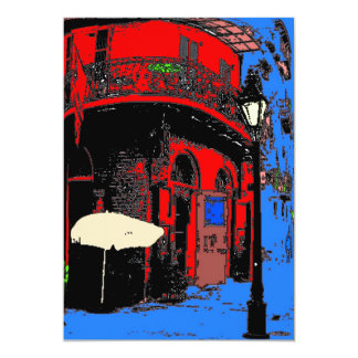 Pirates Alley French Quarter Card