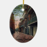 Pirates Alley French Quarter Ornaments