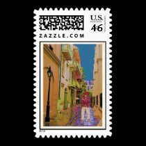Pirates Alley Ghost stamps
