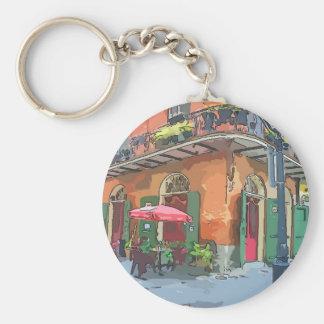 Pirates Alley New Orleans Keychain