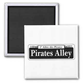 Pirates Alley New Orleans Street Sign Refrigerator Magnet