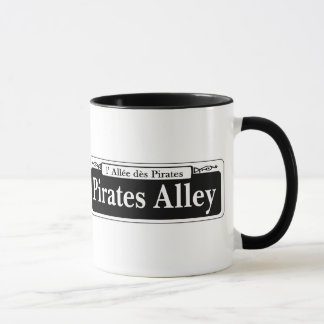 Pirates Alley, New Orleans Street Sign Mug
