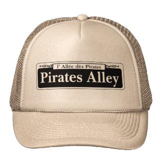 Pirates Alley, New Orleans Street Sign Trucker Hat