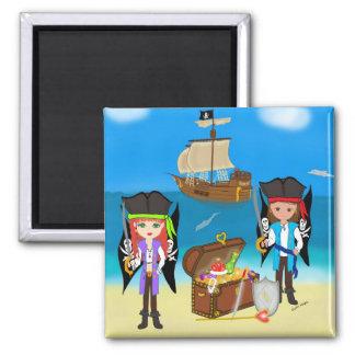 Pirates and Treasure Magnet