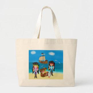 Pirates and Treasure Tote Bag