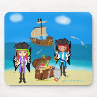 Pirates and Treasure Use Mousepad