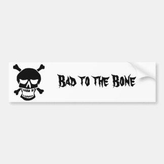 Pirates are Bad to the Bone Bumper Sticker