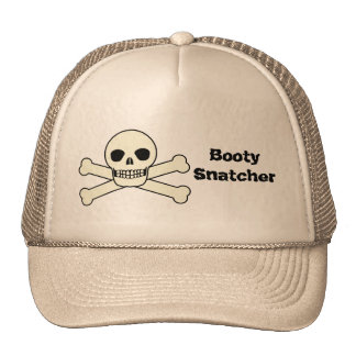Pirates are Booty Snatchers Hats