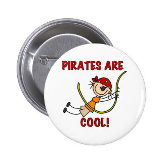 Pirates Are Cool Pinback Buttons