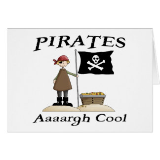 Pirates Are Cool Card