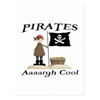Pirates Are Cool Postcards