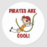 Pirates Are Cool Sticker