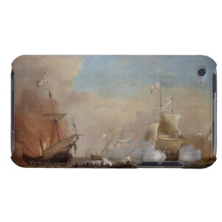 Pirates attack an English naval vessel painting iPod Touch Covers