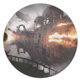 pirates big.jpg melamine plate