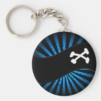 Pirates - Blue Keychain