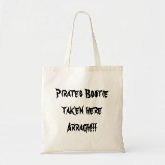 Pirates Bootie taken here Arragh!!! Tote Bag