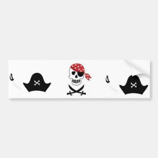 Pirates Bumper Sticker