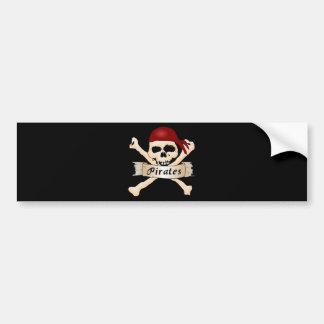 Pirates Bumper Stickers