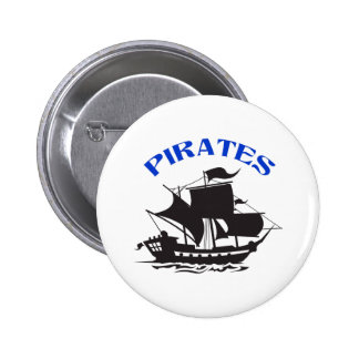 PIRATES PINBACK BUTTONS