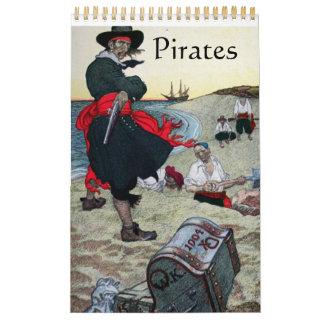 Pirates Wall Calendar