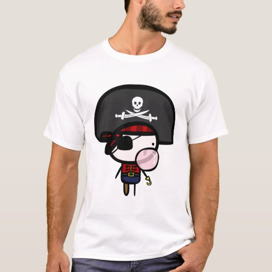 Pirates Can Blow Bubbles Too. T-Shirt