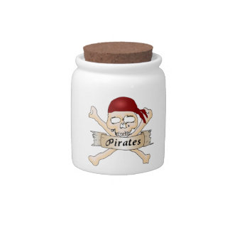 Pirates Candy Dishes