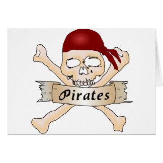 Pirates Card