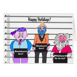 Pirates - Christmas card