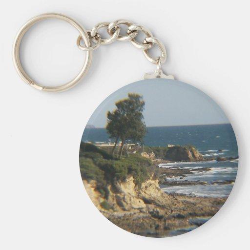 Pirates Cove, Calif Basic Round Button Keychain