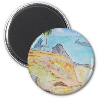 Pirate's Cove-Corona del Mar, CA 2 Inch Round Magnet
