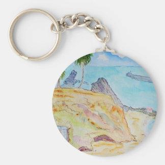 Pirate's Cove-Corona del Mar, CA Basic Round Button Keychain
