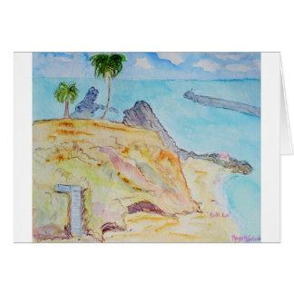 Pirate's Cove-Corona del Mar, CA Card