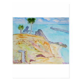 Pirate's Cove-Corona del Mar, CA Postcard
