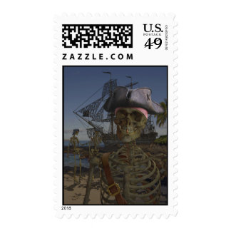 Pirates Curse Stamp