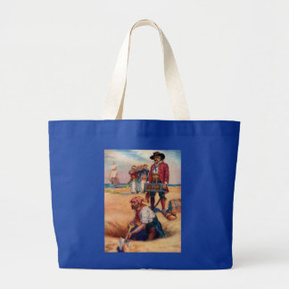 Pirates Digging for Treasure, Tote Bag