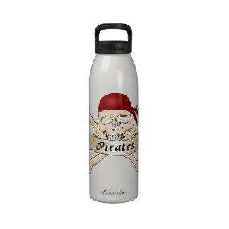 Pirates Drinking Bottles