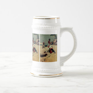 Pirates Fight Over Treasure 18 Oz Beer Stein
