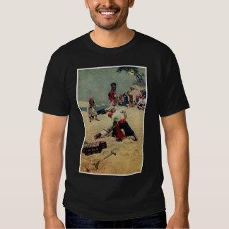 Pirates Fight Over Treasure T-Shirt