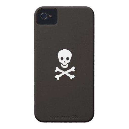 pirates flag case skull bones death dead blackberry bold covers